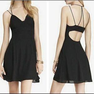 EXPRESS strappy babydoll dress. Size 8